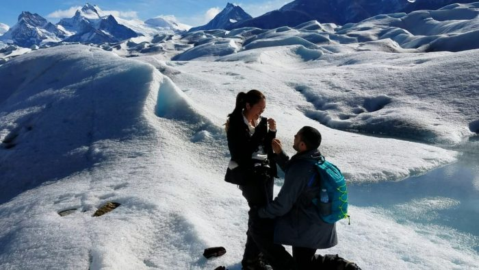 Where to Propose in Perito Moreno, Argentina