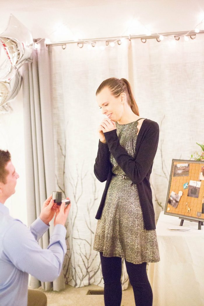 Cady's Proposal in Our mutual friend's house where we attended Bible Study