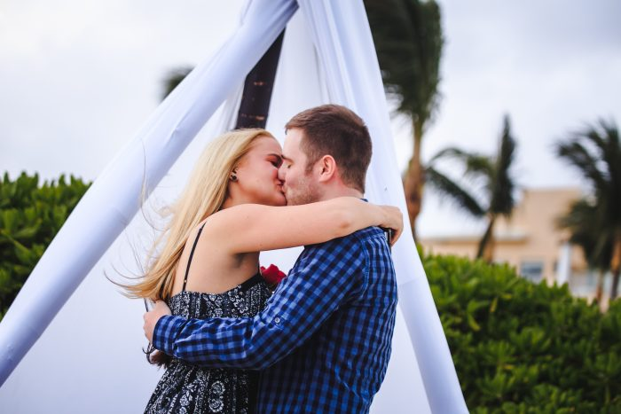 Mary's Proposal in Cancun, Mexico