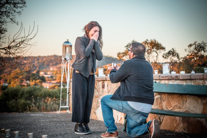 Joanna's Proposal in Adelaide, South Australia