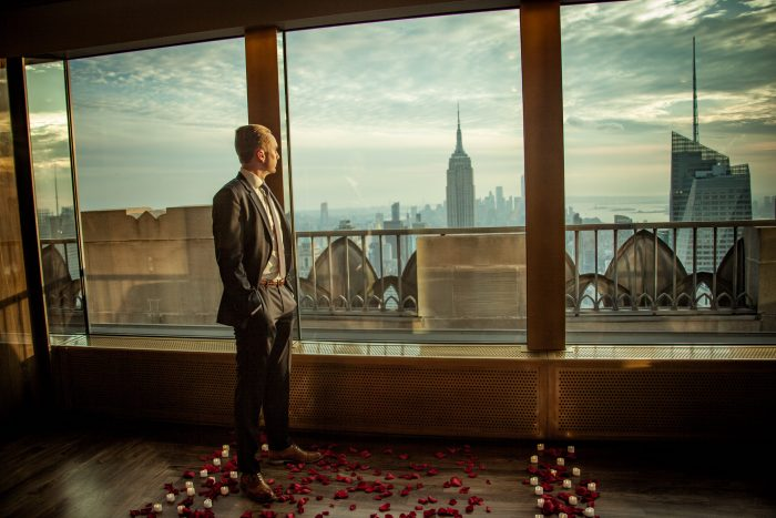 Marriage Proposal Ideas in Rainbow Room - New York, NY