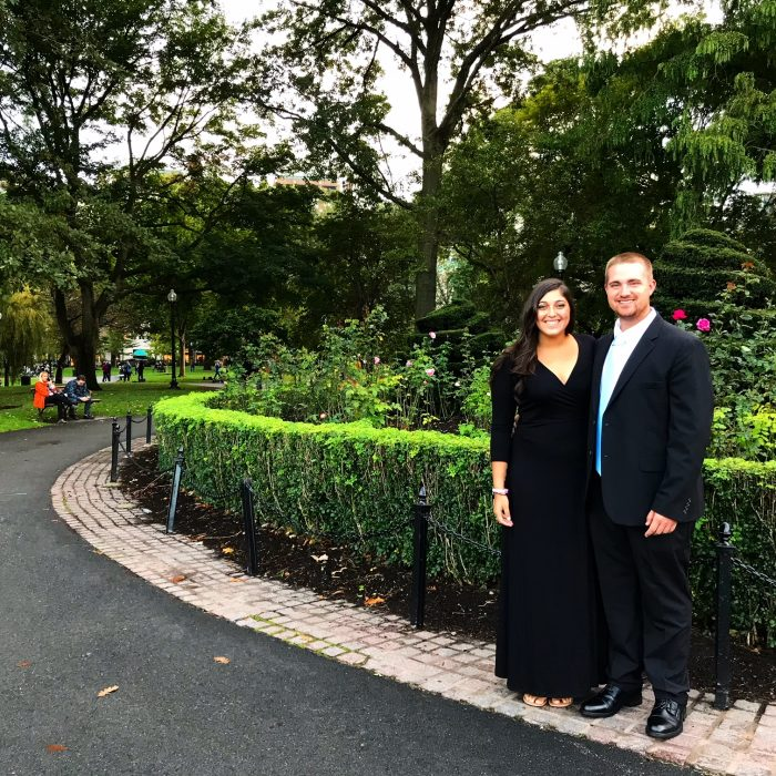 Ashley and John's Engagement in Avery Bar in the Ritz Carlton Boston