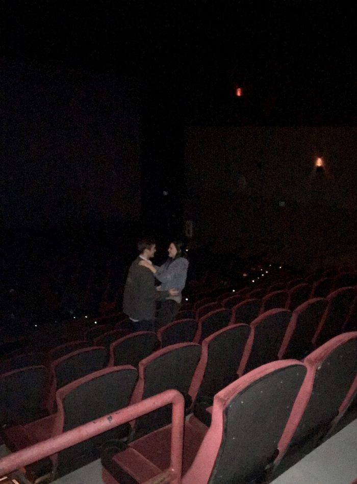 Engagement Proposal Ideas in AMC Theaters, Oklahoma City