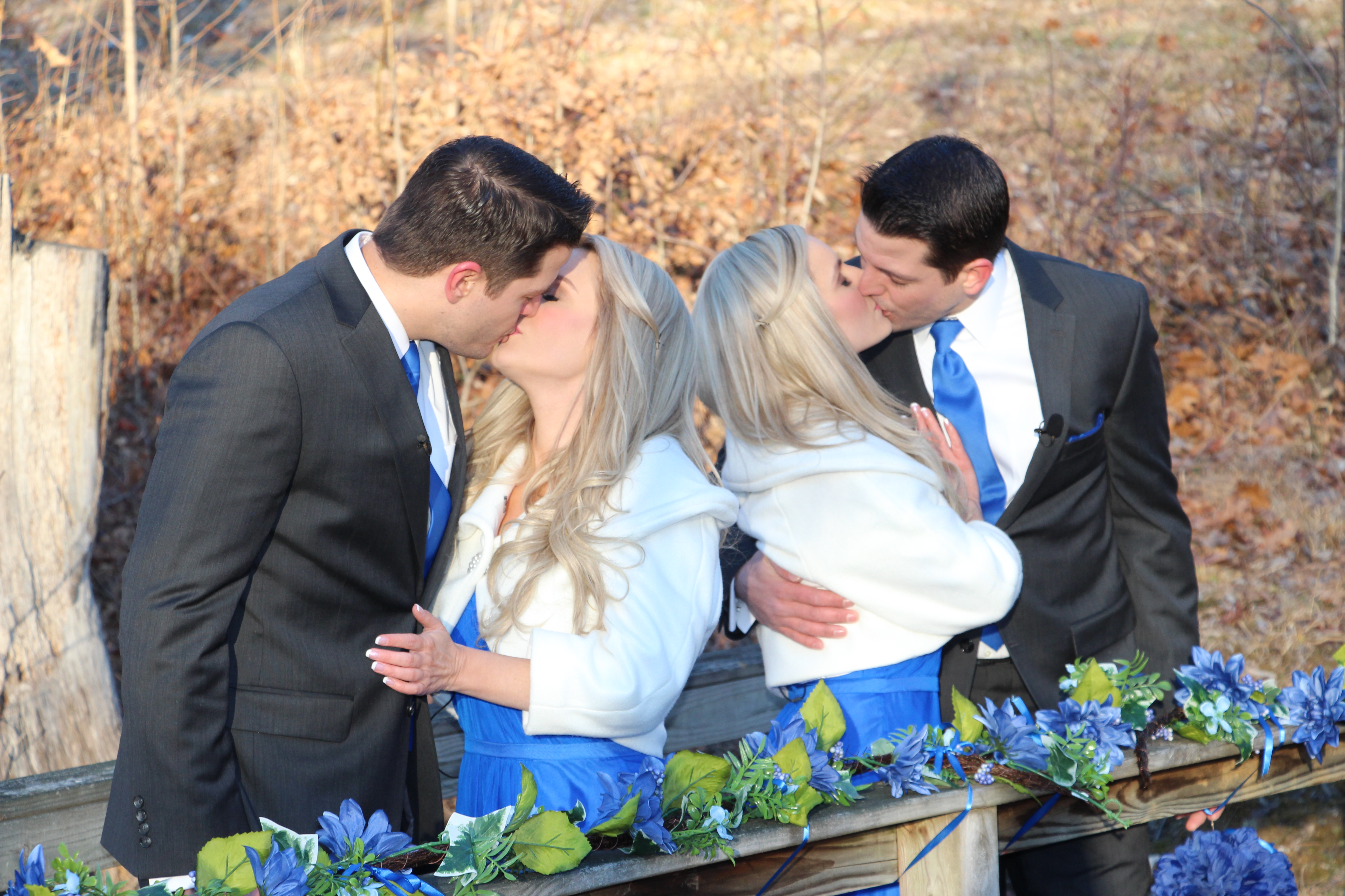 Image 2 of You Are Not Seeing Double – These Identical Twins Brothers Just Proposed to Identical Twins Sisters
