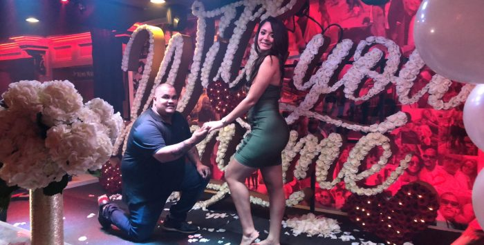 Where to Propose in Bonfire Restaurant in New Jersey