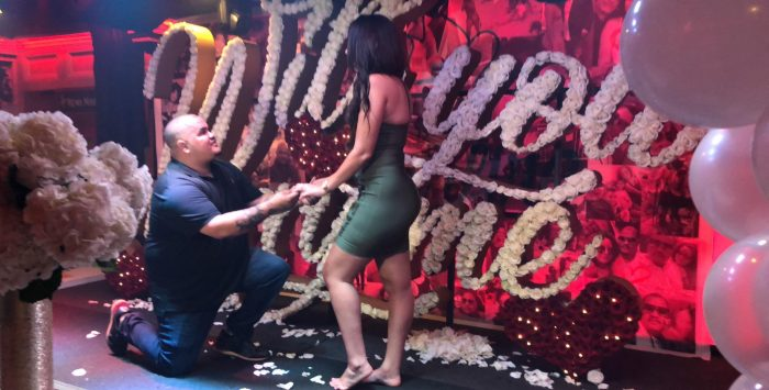 Wedding Proposal Ideas in Bonfire Restaurant in New Jersey