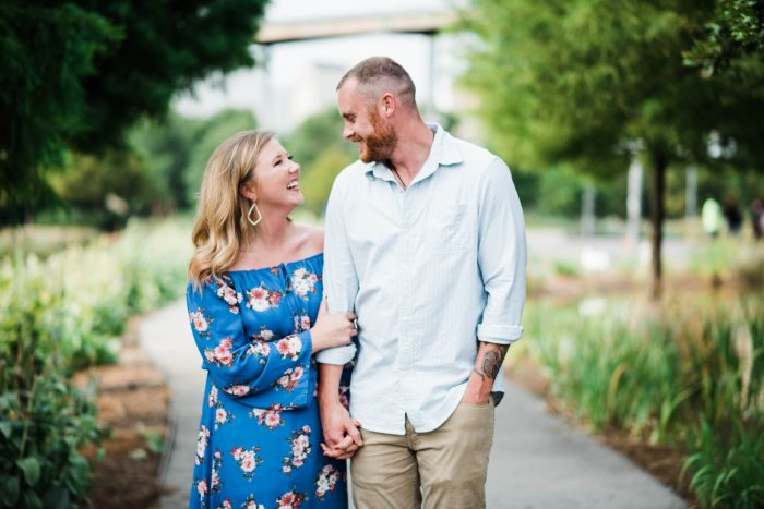 Hannah and Mathew's Engagement in Birmingham, Alabama