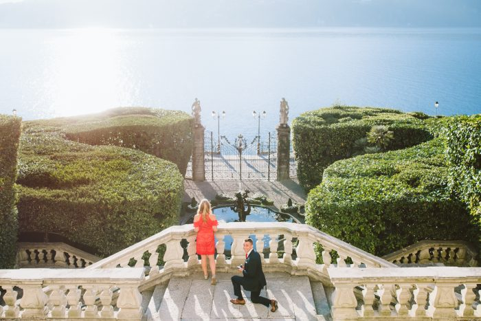Where to Propose in In the gardens of Villa Carlotta on Lake Como, Italy