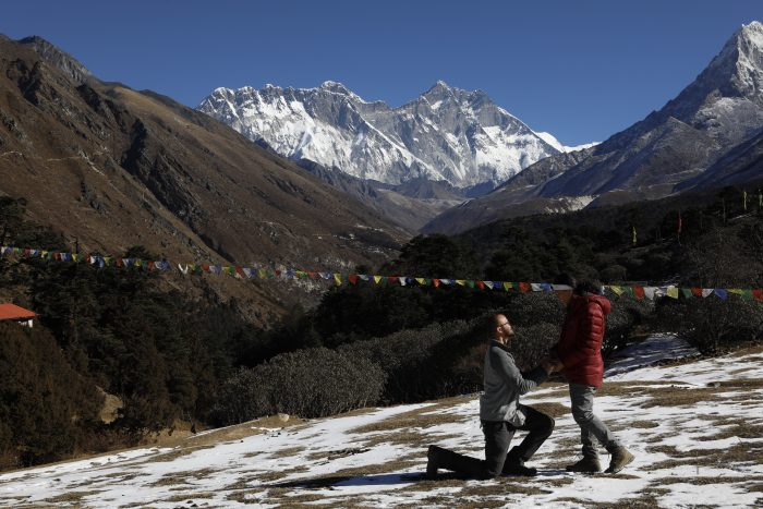 Wedding Proposal Ideas in Mt. Everest, Nepal