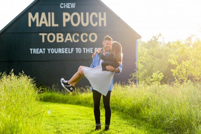 Micah and Rylei's Engagement in Zionsville, Indiana