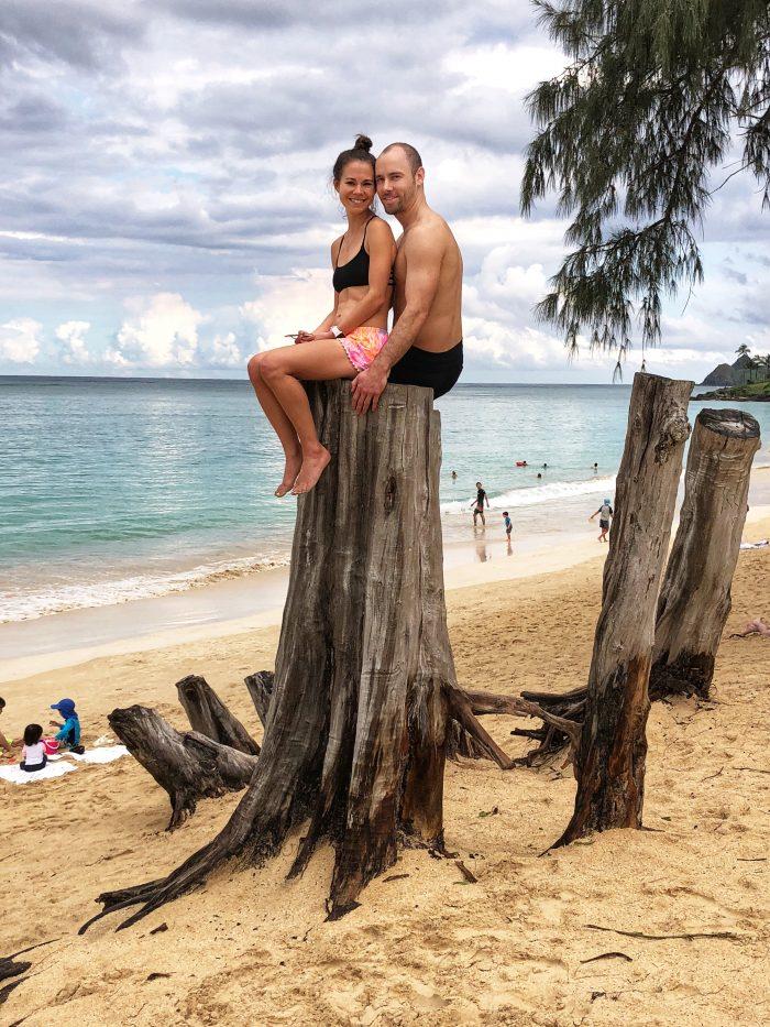 Marriage Proposal Ideas in Crouching Lion Summit in Oahu, Hawaii