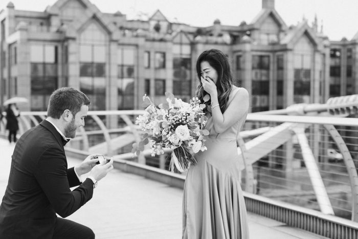 Felicia And Massimilianos Proposal On The Knots Howheasked