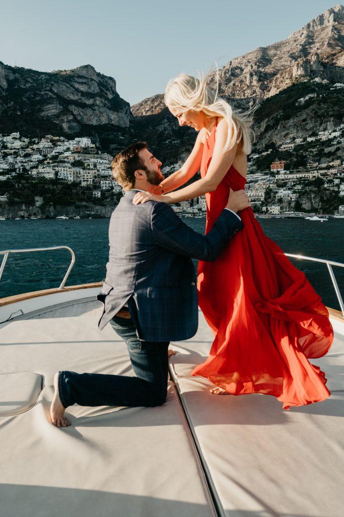 Engagement Proposal Ideas in Positano, Amalfi Coast, Italy