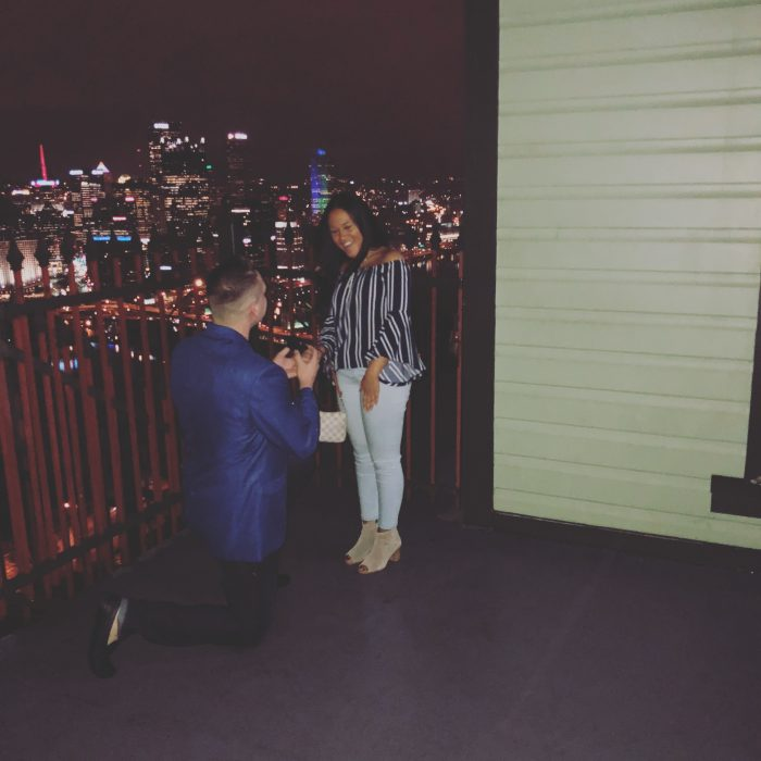 Samantha's Proposal in Pittsburgh