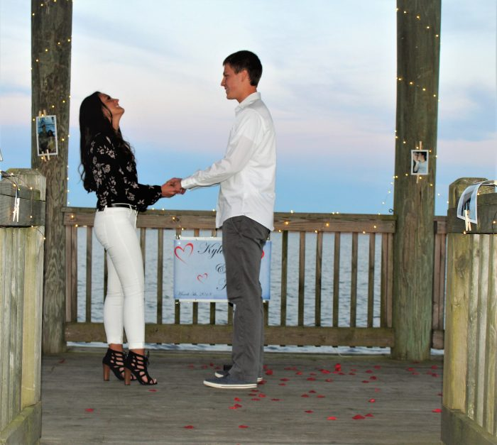 Kortney's Proposal in New Bern, North Carolina