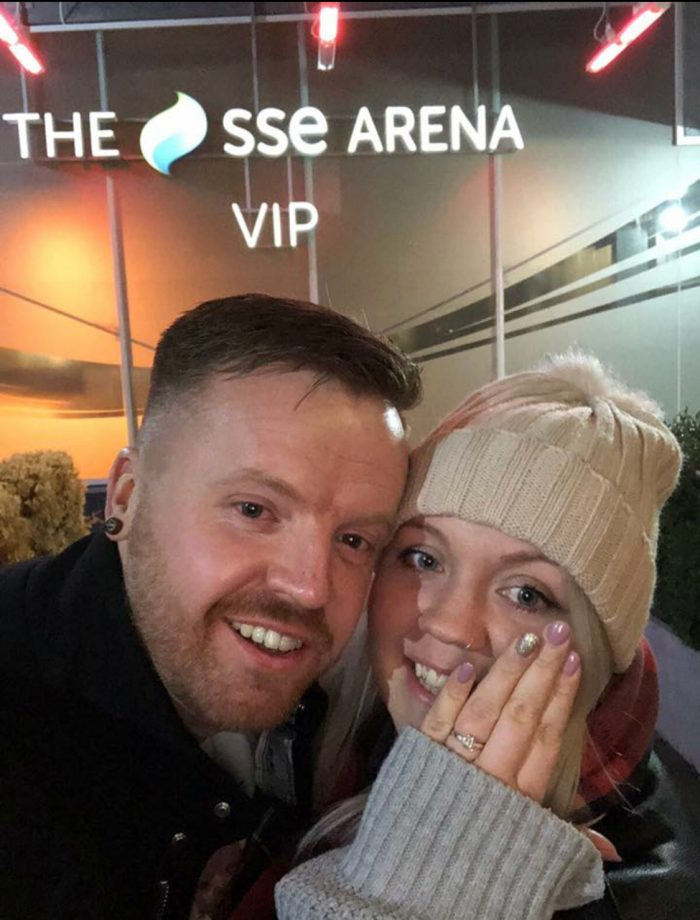 Engagement Proposal Ideas in Wembley Arena
