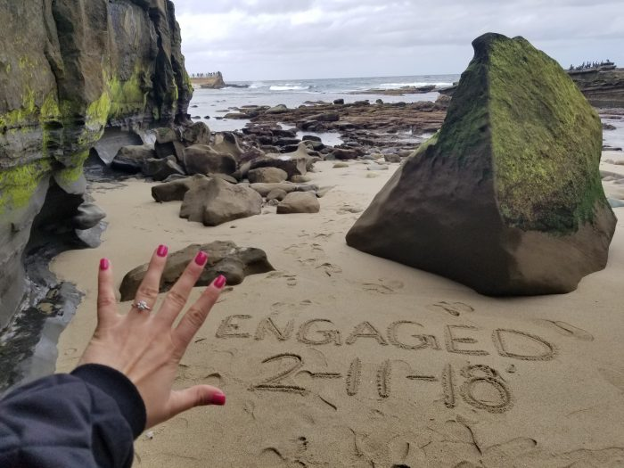 Engagement Proposal Ideas in Sunset Cliffs San Diego, CA