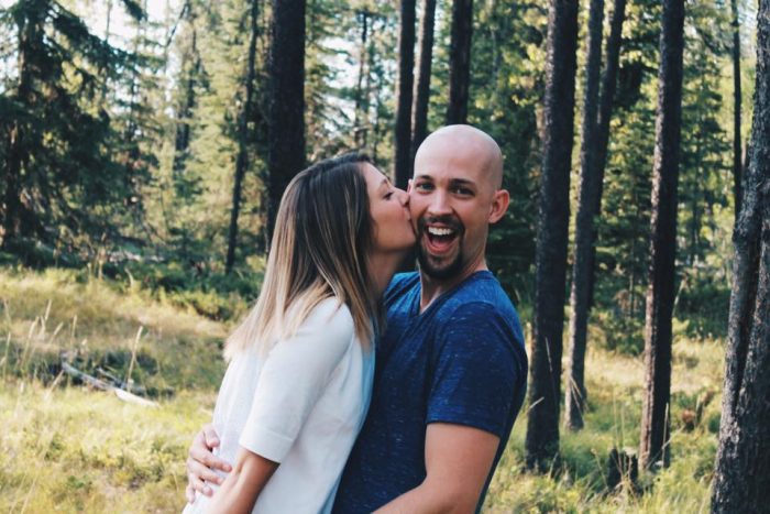 Shae and Joel's Engagement in Montana
