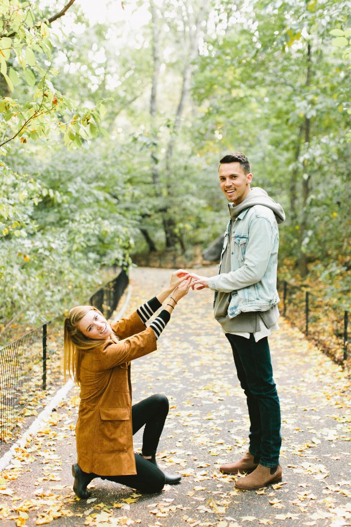 Molly and Bryan's Engagement in Central Park, NEW YORK