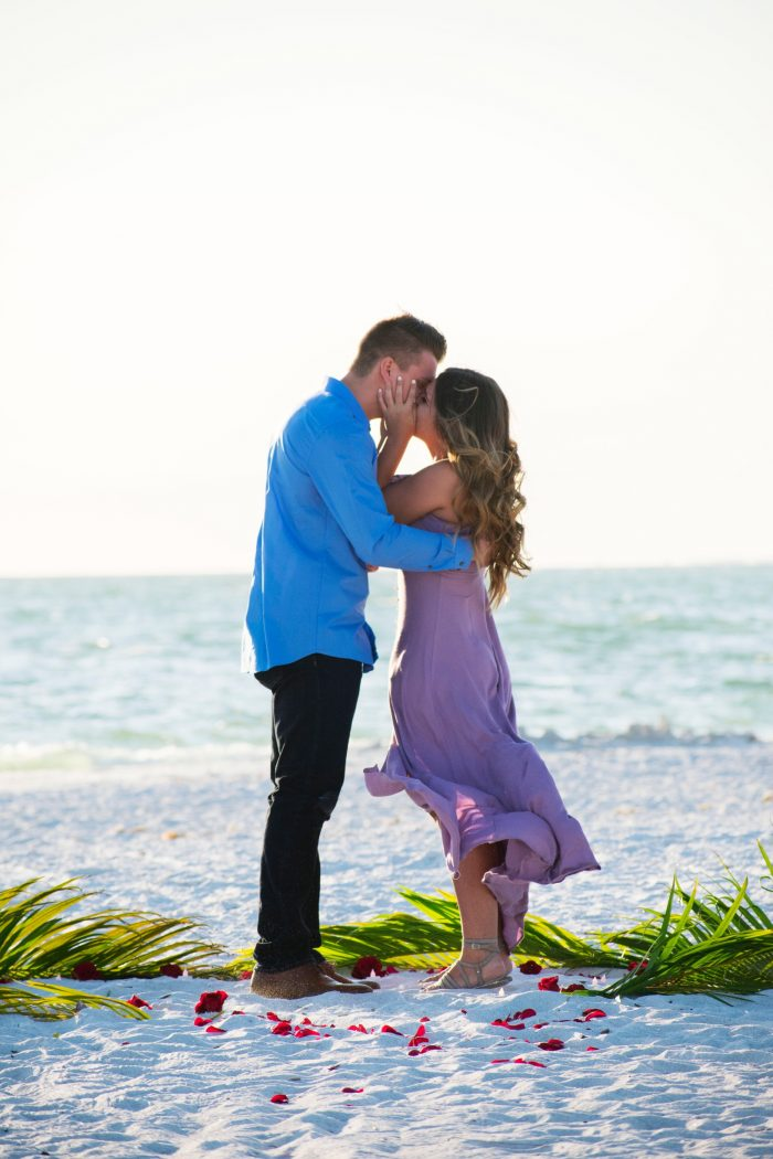 Where to Propose in Lovers Key Island, Florida