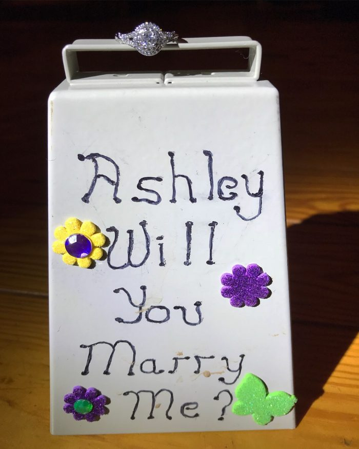 Wedding Proposal Ideas in His family farm