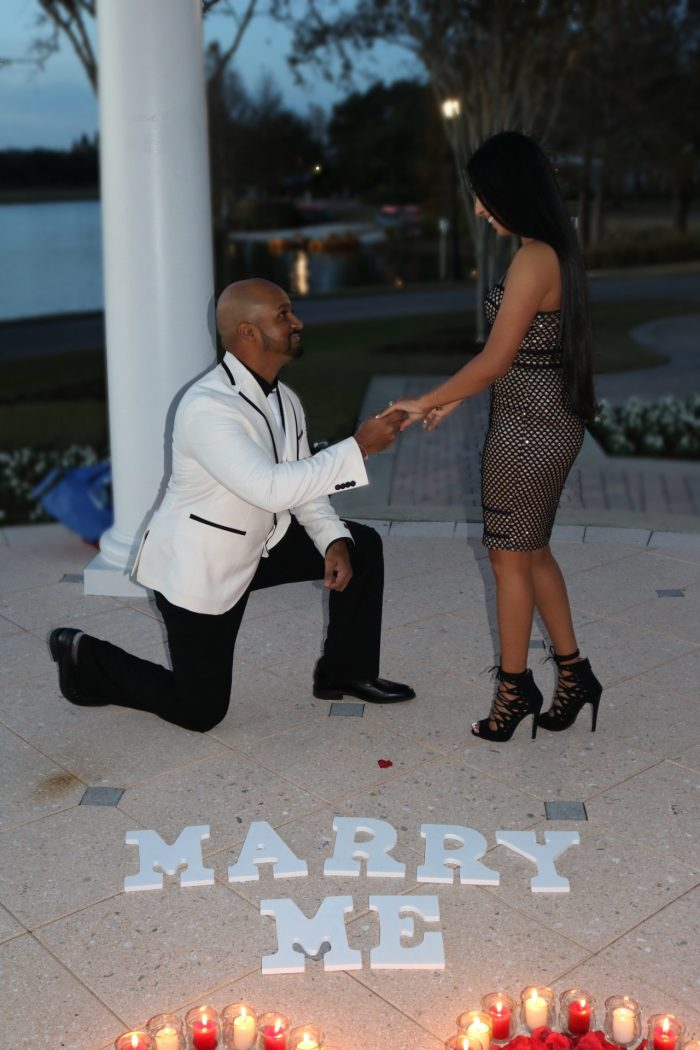 Wedding Proposal Ideas in The JW Marriott Orlando, Grande Lakes