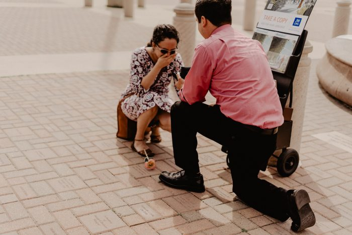 Victoria and Abraham's Engagement in Brownsville, Texas