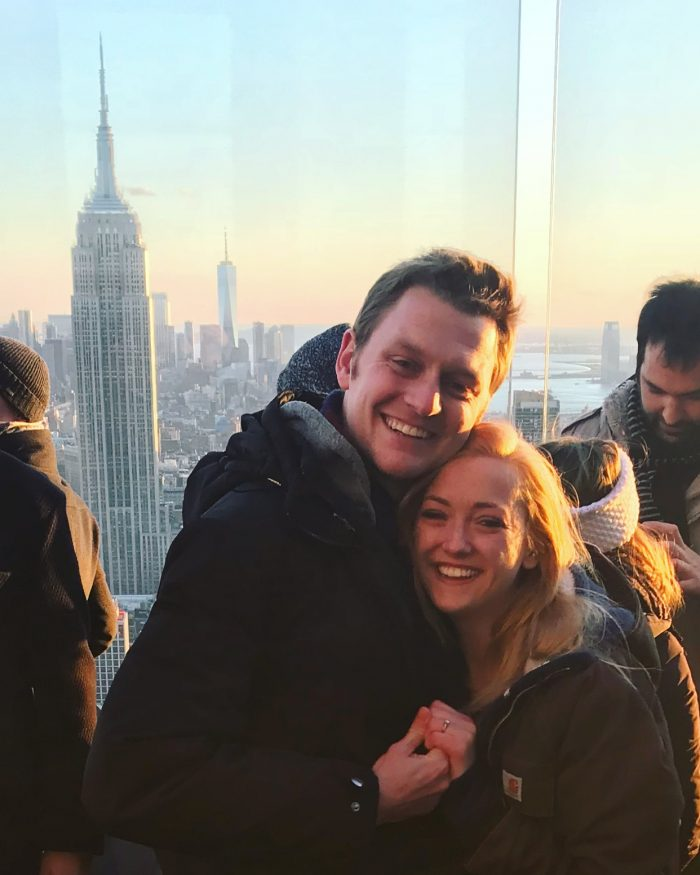 Destiny's Proposal in On Top of the Rockefeller Center, NYC NY