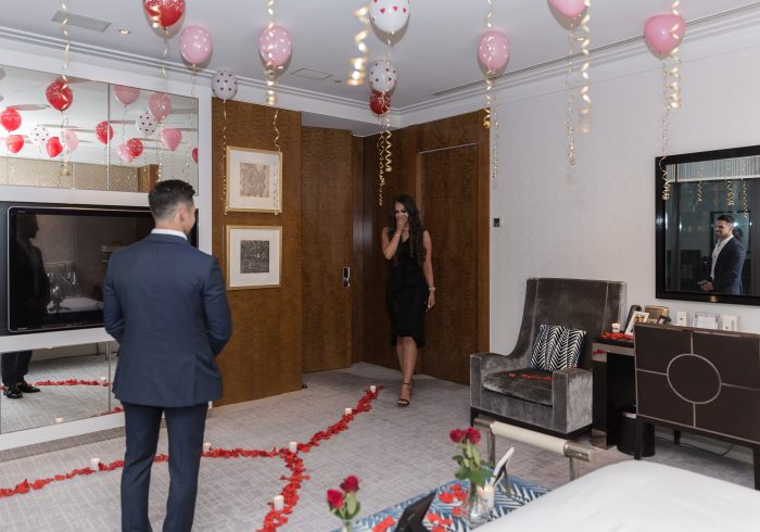 Wedding Proposal Ideas in Crown Casion