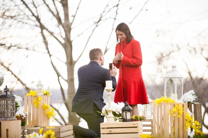 Where to Propose in Nelson Park at Lake Decatur