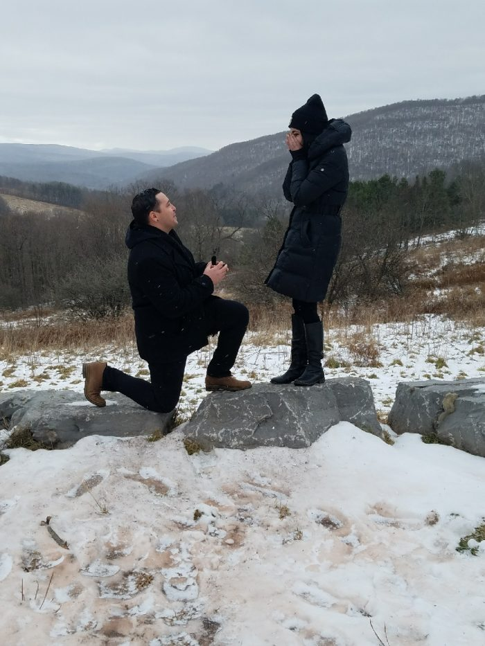 Alexandria and Marcello's Engagement in The Catskills