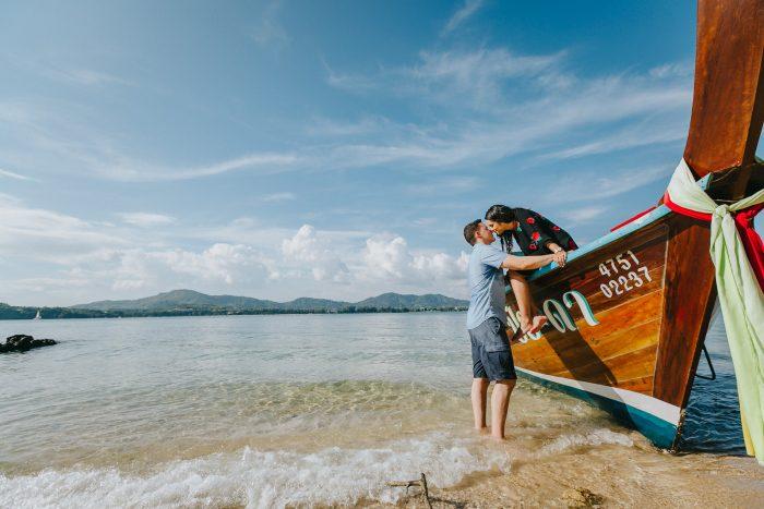 Celenia's Proposal in Phuket, Thailand