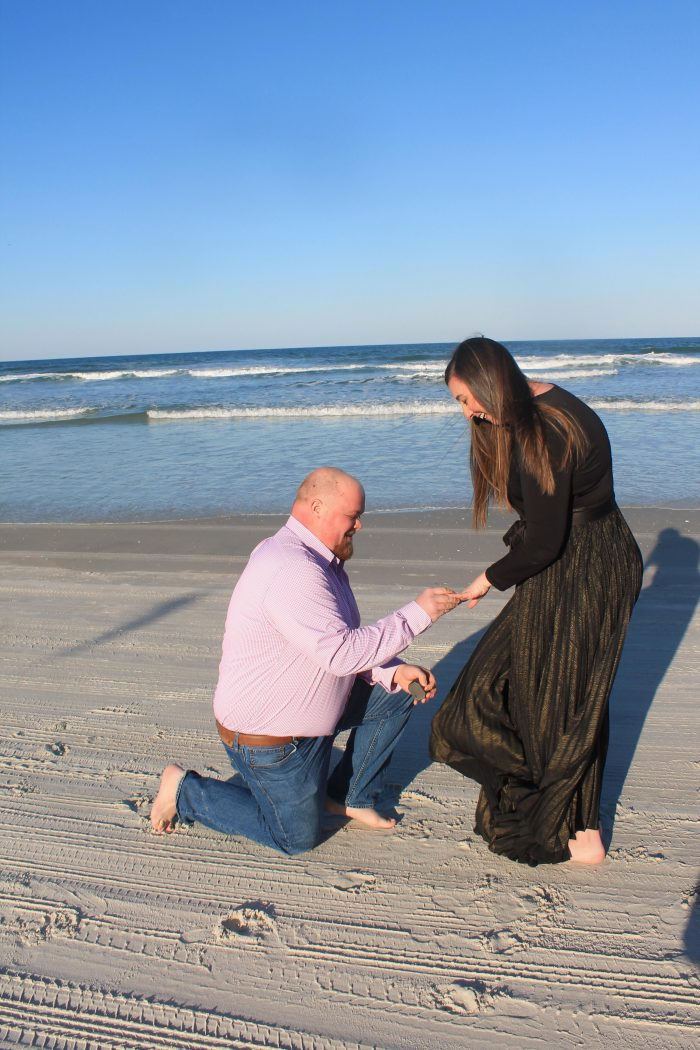 Ashley's Proposal in Daytona Beach Florida