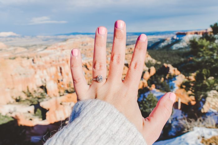 Abby and Daylen's Engagement in Bryce Canyon National Park