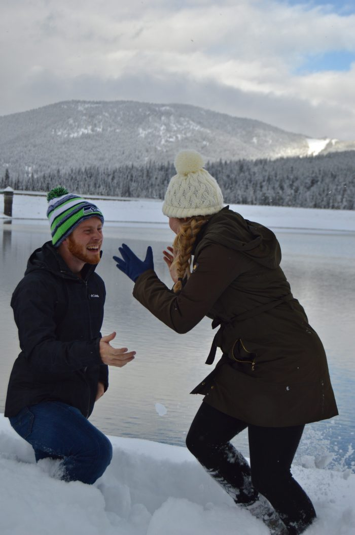 Savannah's Proposal in Bozeman, MT