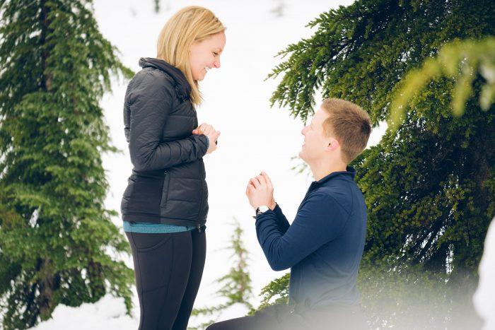 Ashley's Proposal in Skykomish, WA