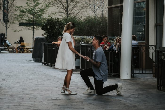 Marriage Proposal Ideas in Downtown Greenville SC