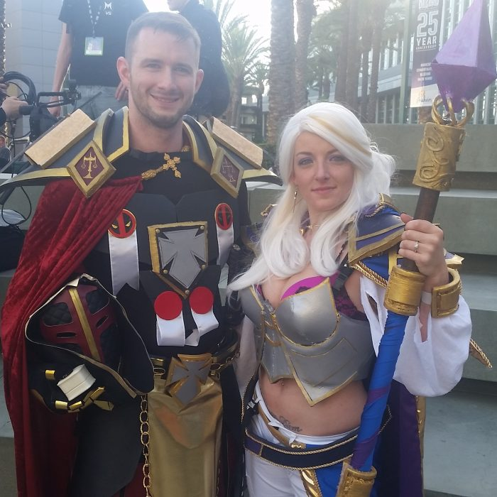 Brittany and Richard's Engagement in At Blizzcon 2016, a video convention we go to yearly.