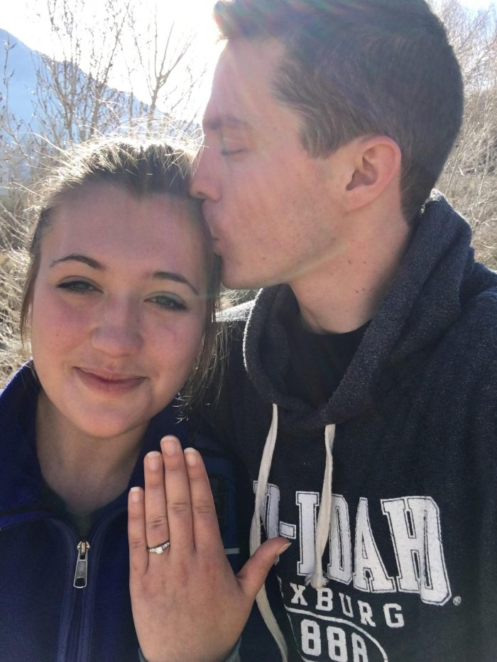 Alexandra's Proposal in Utah