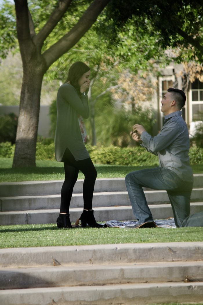 Kelsey's Proposal in Marley Park | Surprise, AZ