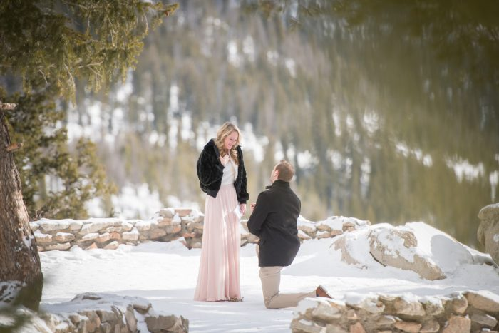 Jessica and Jamie's Engagement in Sapphire Point, Dillon, Colorado