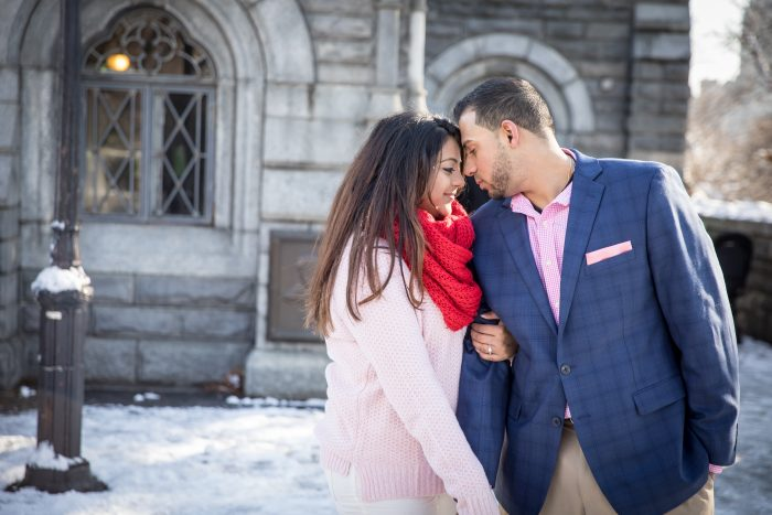 Nirali's Proposal in Central Park - Belvedere Castle