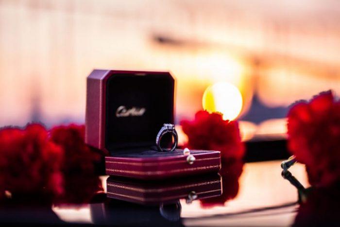 Fabio and Sandra's Engagement in London