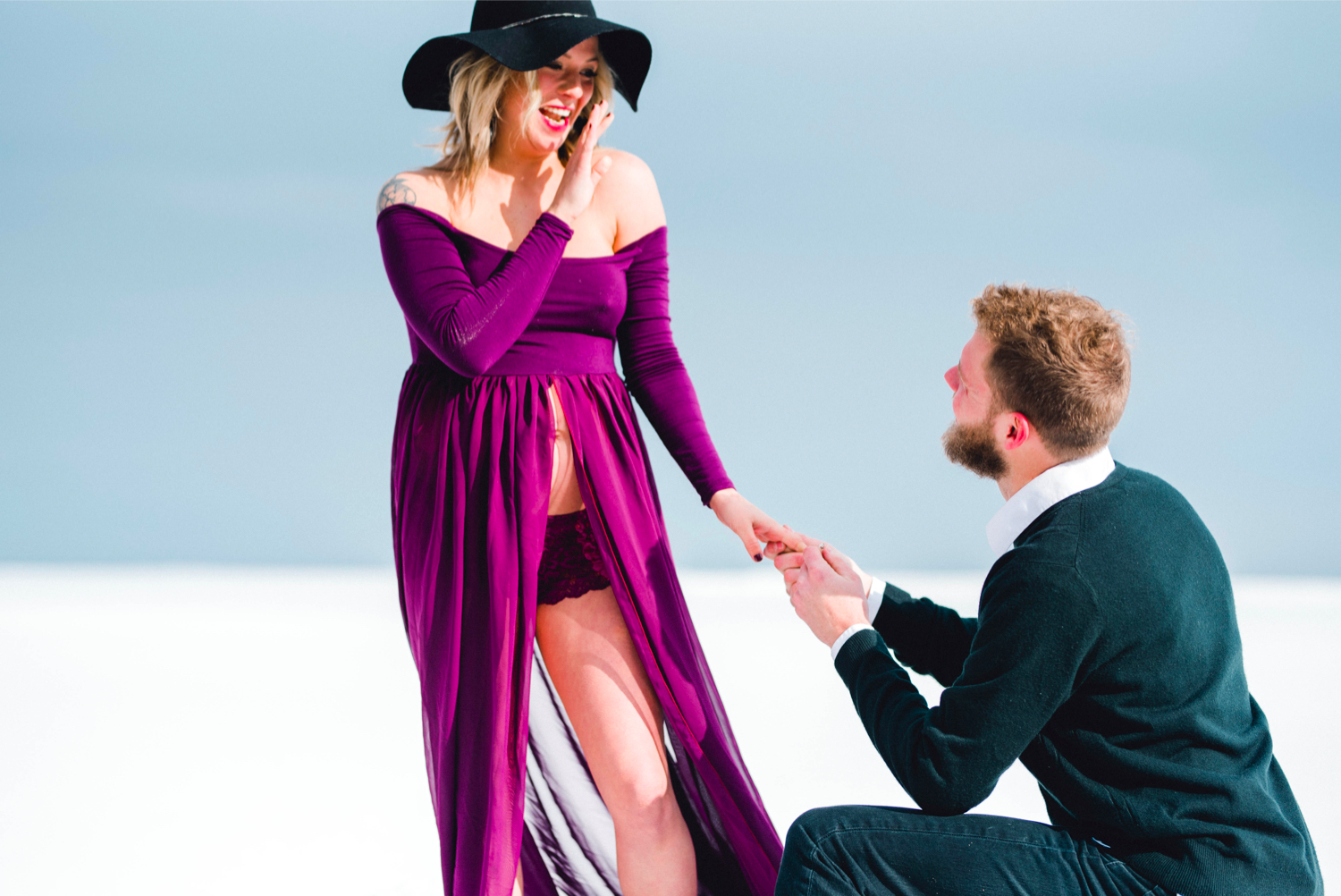 Image 7 of Maternity Shoot Turns into Surprise Marriage Proposal