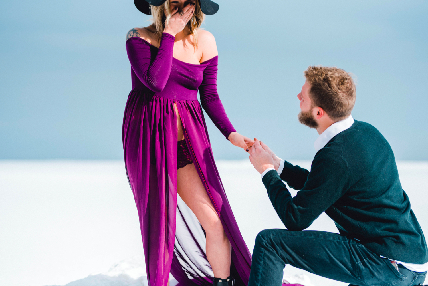 Image 5 of Maternity Shoot Turns into Surprise Marriage Proposal