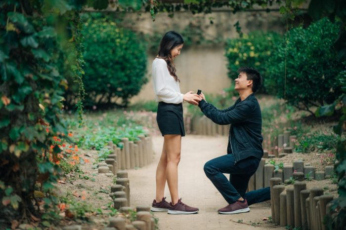 Wedding Proposal Ideas in SEOUL FOREST
