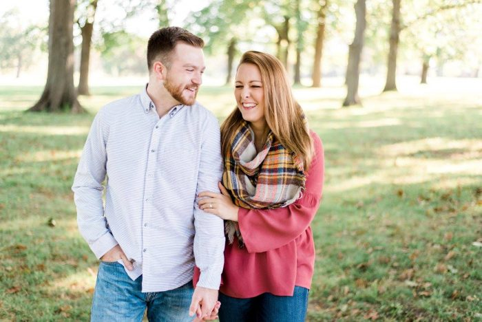 Kayla and Ethan's Engagement in Ligonier Camp