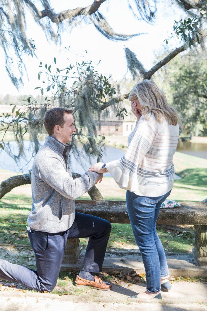 Caroline and Shea's Engagement in Charleston, SC