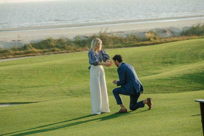 Cassie and Matt's Engagement in Kiawah Island, South Carolina