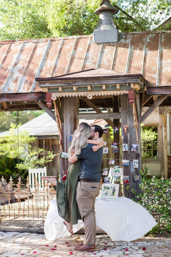 Caitlyn and Otto's Engagement in Gruene, TX